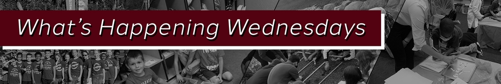 What's Happening Wednesday