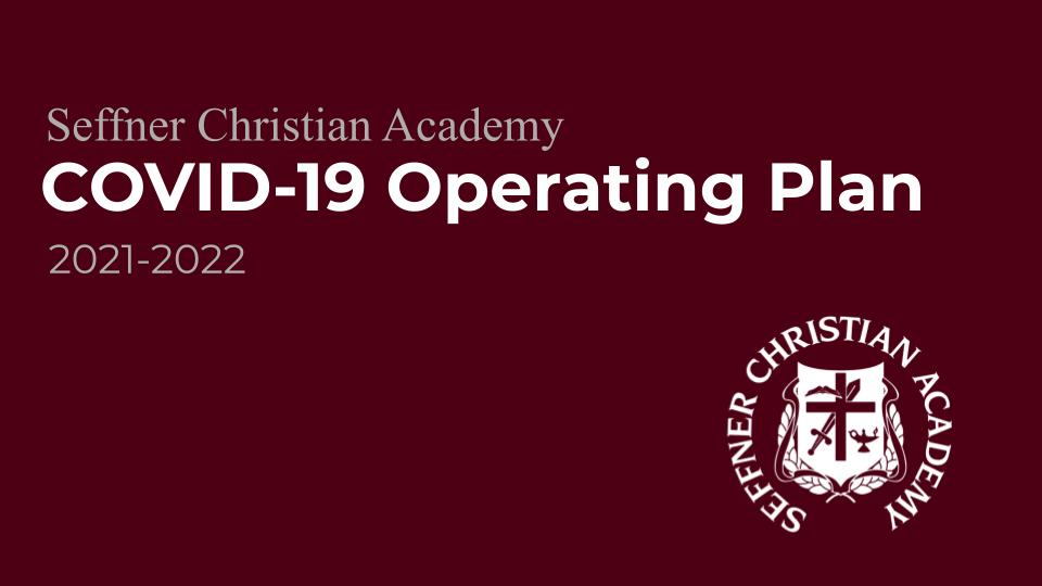 Covid Operating Plan